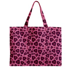 Leopard Heart 03 Mini Tote Bag