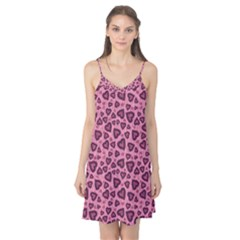 Leopard Heart 03 Camis Nightgown