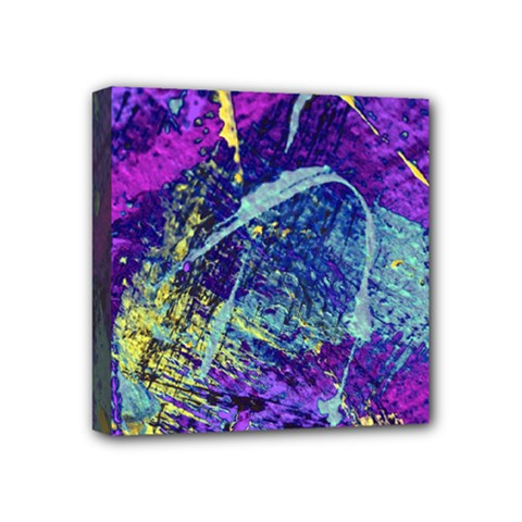 Ink Splash 01 Mini Canvas 4  X 4