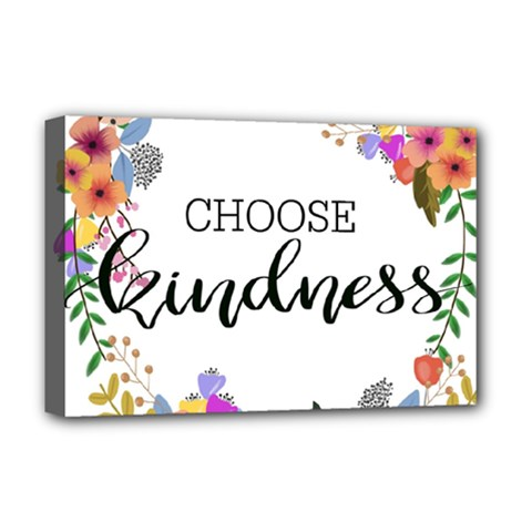 Choose Kidness Deluxe Canvas 18  X 12