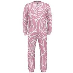 Pink Peonies Onepiece Jumpsuit (men)