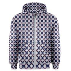 Kaleidoscope Tiles Men s Zipper Hoodie