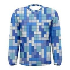 Tetris Camouflage Marine Men s Long Sleeve Tee