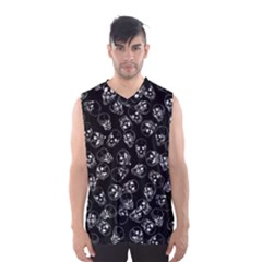 A Lot Of Skulls Black Men s Basketball Tank Top