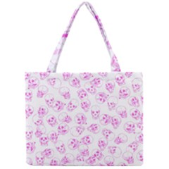 A Lot Of Skulls Pink Mini Tote Bag