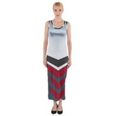 Modern Shapes Fitted Maxi Dress