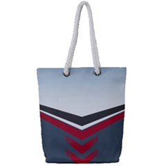 Modern Shapes Full Print Rope Handle Tote (small)
