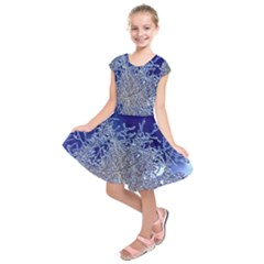 Crystalline Branches Kids  Short Sleeve Dress