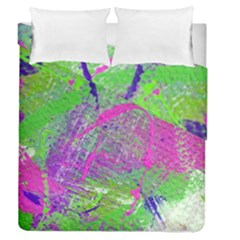 Ink Splash 03 Duvet Cover Double Side (queen Size)