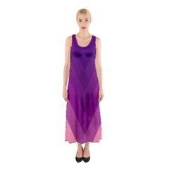 Tri 01 Sleeveless Maxi Dress