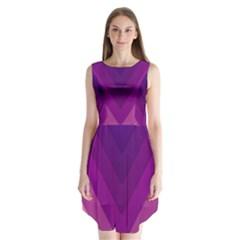 Tri 01 Sleeveless Chiffon Dress