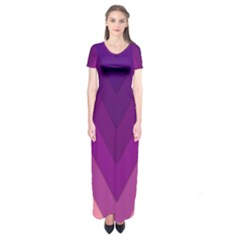 Tri 01 Short Sleeve Maxi Dress