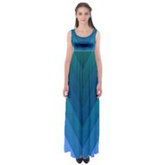 Tri 04 Empire Waist Maxi Dress