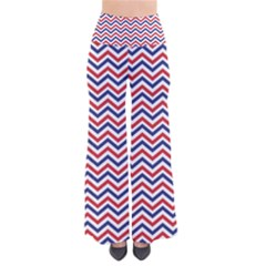 Navy Chevron Pants