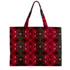 Christmas Colors Wrapping Paper Design Mini Tote Bag