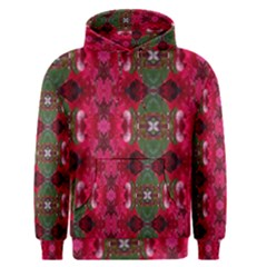 Christmas Colors Wrapping Paper Design Men s Pullover Hoodie