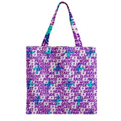 Hard Workout Zipper Grocery Tote Bag