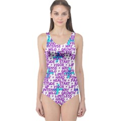 Hard Workout One Piece Swimsuit