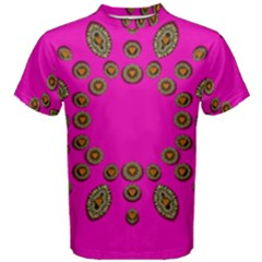 Sweet Hearts In  Decorative Metal Tinsel Men s Cotton Tee