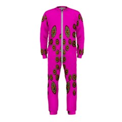 Sweet Hearts In  Decorative Metal Tinsel Onepiece Jumpsuit (kids)