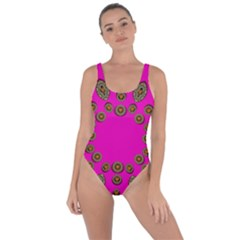 Sweet Hearts In  Decorative Metal Tinsel Bring Sexy Back Swimsuit