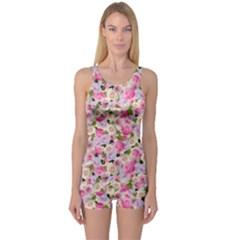 Gardenia Sweet One Piece Boyleg Swimsuit