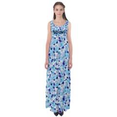 Gardenia Cold Empire Waist Maxi Dress