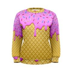 Strawberry Ice Cream Women s Sweatshirt