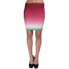 Watermelon Bodycon Skirt