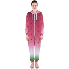 Watermelon Hooded Jumpsuit (ladies)