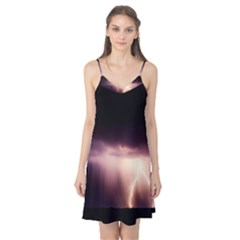 Storm Weather Lightning Bolt Camis Nightgown