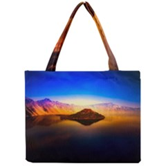 Crater Lake Oregon Mountains Mini Tote Bag