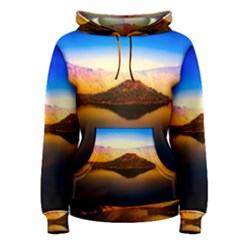 Crater Lake Oregon Mountains Women s Pullover Hoodie