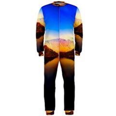 Crater Lake Oregon Mountains Onepiece Jumpsuit (men)