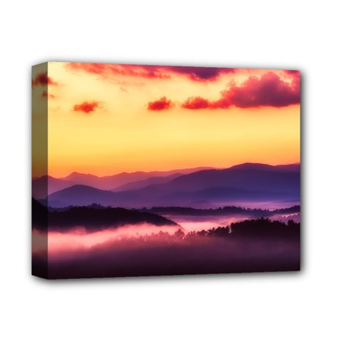 Great Smoky Mountains National Park Deluxe Canvas 14  X 11