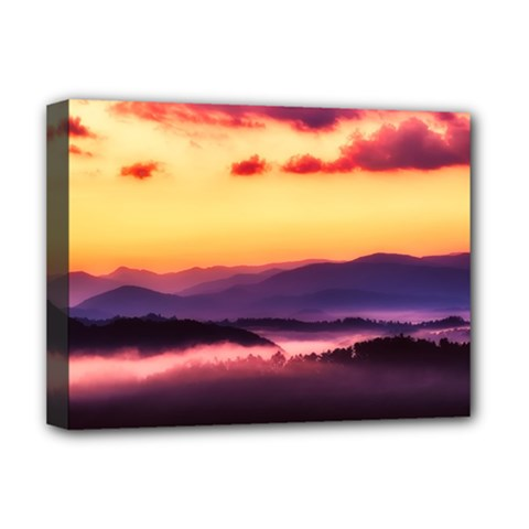 Great Smoky Mountains National Park Deluxe Canvas 16  X 12