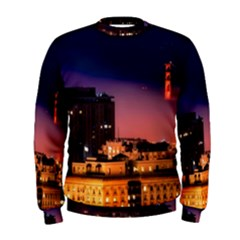 San Francisco Night Evening Lights Men s Sweatshirt