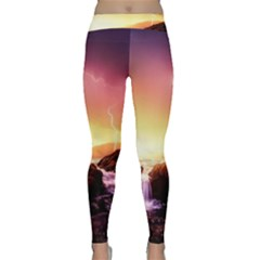 California Sea Ocean Pacific Classic Yoga Leggings