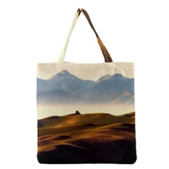Landscape Mountains Nature Outdoors Grocery Tote Bag
