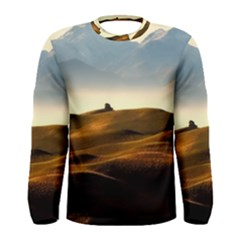 Landscape Mountains Nature Outdoors Men s Long Sleeve Tee