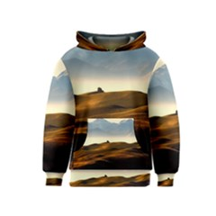 Landscape Mountains Nature Outdoors Kids  Pullover Hoodie