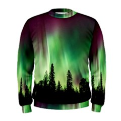 Aurora Borealis Northern Lights Men s Sweatshirt