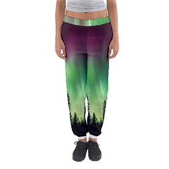 Aurora Borealis Northern Lights Women s Jogger Sweatpants