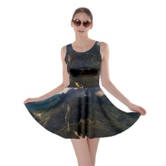 Italy Valley Canyon Mountains Sky Skater Dress