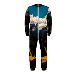 Italy Valley Canyon Mountains Sky Onepiece Jumpsuit (kids)