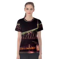 Budapest Hungary Liberty Bridge Women s Cotton Tee