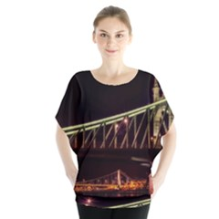 Budapest Hungary Liberty Bridge Blouse