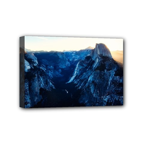 Yosemite National Park California Mini Canvas 6  X 4