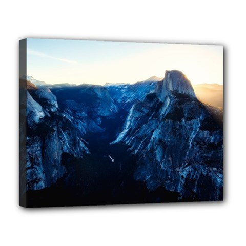 Yosemite National Park California Canvas 14  X 11