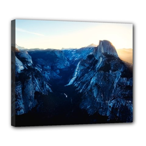 Yosemite National Park California Deluxe Canvas 24  X 20